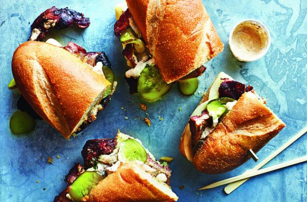 Southern Style Cuban Pork Sandwiches with Chipotle Rémoulade