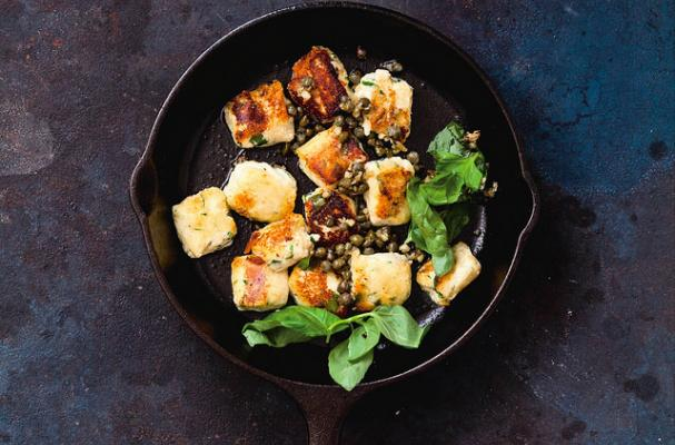 Skillet Fried Ricotta Dumplings