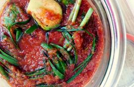 Brussels Sprouts Kimchi